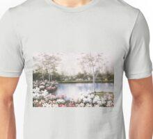 WHITE BIRCHES by DIANE ROMANELLO Unisex T-Shirt