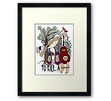 To Kill a Mockingbird (colour) Framed Print