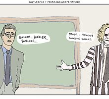 Beetlejuice + Ferris Bueller's Day Off by altanimus