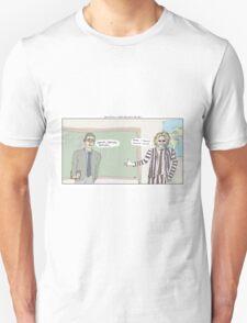 Beetlejuice + Ferris Bueller's Day Off Unisex T-Shirt