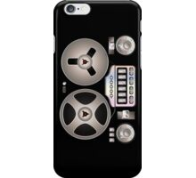 Tape Recorder Retro Magnetophon  iPhone Case/Skin