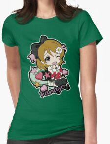 Hanayo Chibi Womens Fitted T-Shirt