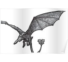 Toothless Sketch Poster