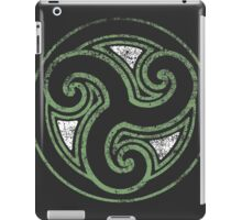 Skyrim Distressed Morthal Logo iPad Case/Skin