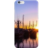 Evening At The Dock 1 iPhone Case/Skin