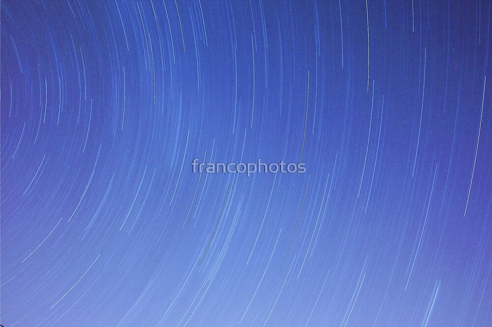 Spinning Stars by Franco De Luca Calce