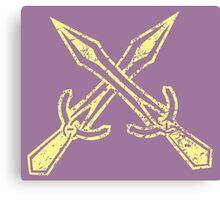 Skyrim Distressed Riften Logo Canvas Print