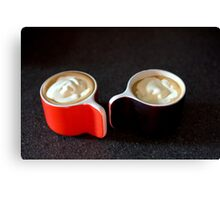 coffee for two Canvas Print