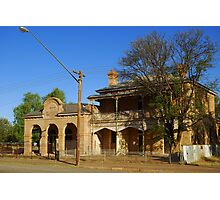 Wilcannia post office Photographic Print