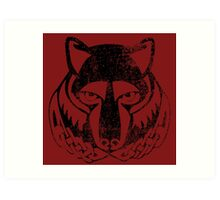 Skyrim Distressed Solitude Logo Art Print
