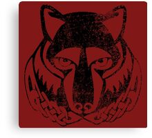 Skyrim Distressed Solitude Logo Canvas Print