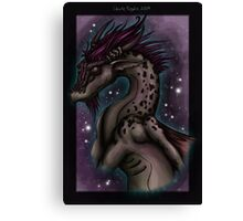 Dragon Bust Canvas Print