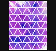 Purple Triangles  Unisex T-Shirt