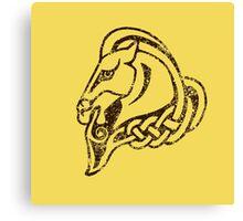 Skyrim Distressed Whiterun Logo Canvas Print
