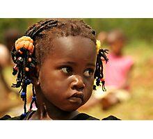 Uncertainty - Uganda, Eastern Africa Photographic Print