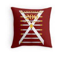 Battle of Waterloo 200th Anniversary Throw Pillow
