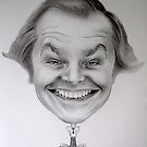 Jack Nicholson by Bridie Flanagan