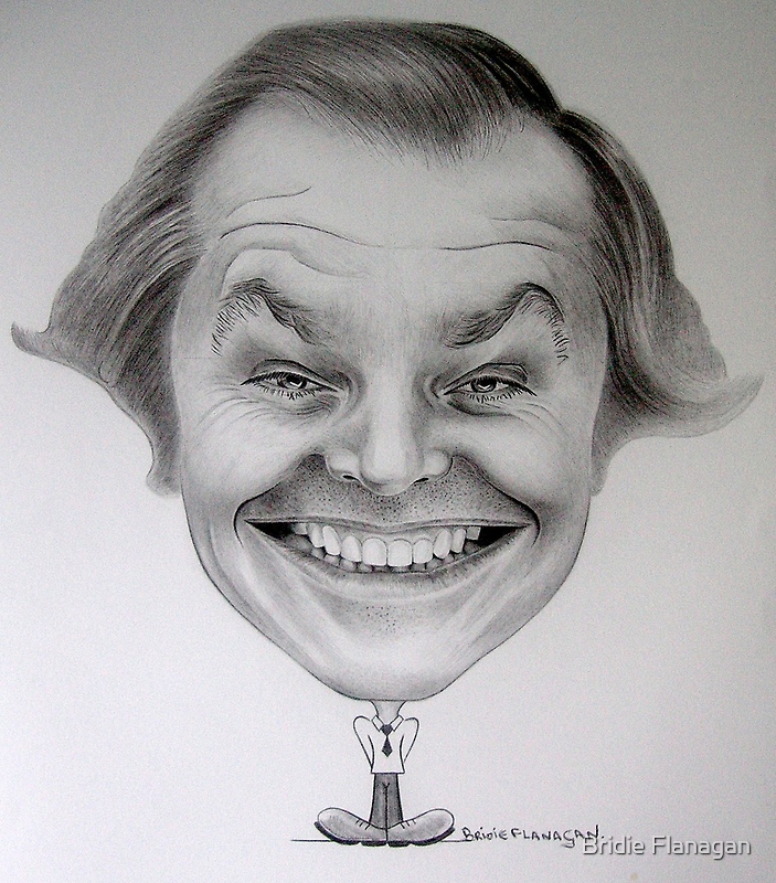 Jack Nicholson by Bridie Flanagan