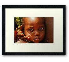 Loved - Uganda, Eastern Africa Framed Print