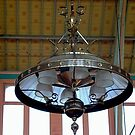 Victorian Gas Lamp, Old Exhibition Building, Melbourne by BronReid