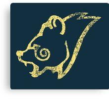 Skyrim Distressed Windhelm Logo Canvas Print