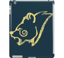 Skyrim Distressed Windhelm Logo iPad Case/Skin