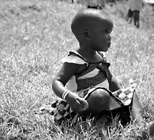 Deep In Thought - Uganda, Eastern Africa by Karl Lindsay