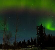 Aurora Borealis ( North Style) by peaceofthenorth