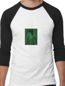 Little Green Geisha Men's Baseball ¾ T-Shirt