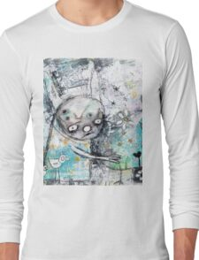 birds and flowers Long Sleeve T-Shirt