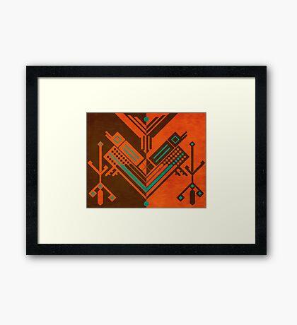 Swing Buzzard Framed Print