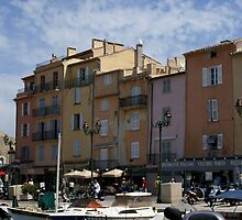 Old St Tropez by BronReid