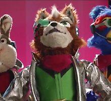 Star Fox Muppets by SuperSmashShirt