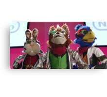 Star Fox Muppets Canvas Print
