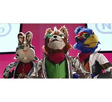 Star Fox Muppets Photographic Print