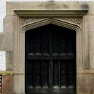 beautiful entry door to Blackwell, Bowness on Windermere by BronReid