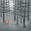 The Fox and the Forest by squirrell