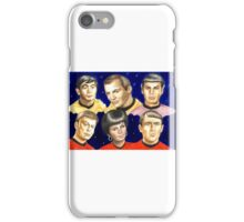 To boldly go......Star Trek.....the originals iPhone Case/Skin