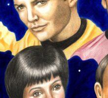 To boldly go......Star Trek.....the originals Sticker