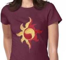 Sunset Shimmer Paintsplatter Womens Fitted T-Shirt