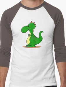 DinoDragon  Men's Baseball ¾ T-Shirt