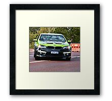'Pace Car'.....for a bicycle race !!........... Framed Print