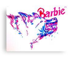 Barbie Pup Canvas Print