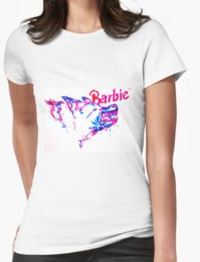 Barbie Pup Womens Fitted T-Shirt