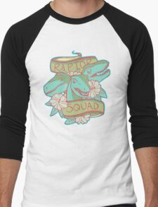 Raptor Squad Men's Baseball ¾ T-Shirt