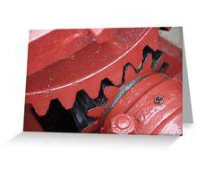 Reduction Gear - Lock 3 Greeting Card