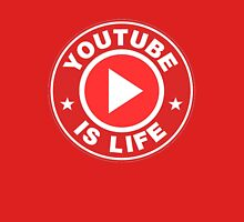 Youtube is Life Womens Fitted T-Shirt