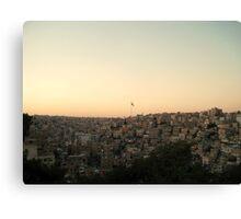 Among the Seven Hills - Amman, Jordan Canvas Print