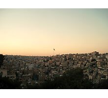 Among the Seven Hills - Amman, Jordan Photographic Print