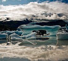 Glacier Lagoon - Fjallsjokull in Iceland by Tim Vollmer